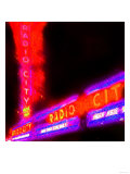 Radio City Night  New York