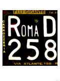 License Plate  Rome