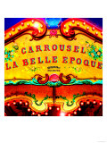 Carrousel Belle Epoque  Paris