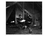 General US Grant in Camp  Civil War