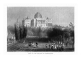 District of Columbia  Washington  Exterior View of the Capitol from the Grounds