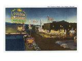 Las Vegas  Nevada  General View of Old Fremont Street