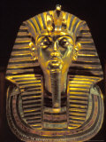 Gold Death Mask  Cairo  Egypt