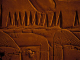 Images of Anubis near Ramesses II Reliefs and Karnak Temple  Egypt