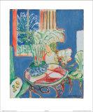 Petit Interieur en Bleu  c1947