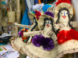 Bahamian Dolls at Straw Market  Nassau  Bahamas  Caribbean