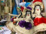 Bahamian Dolls at Straw Market  Nassau  Bahamas  Caribbean