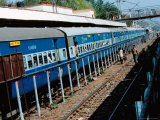 Indian Train Transportation  India