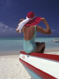 Colorful Fishing Boats  Aruba  Caribbean