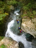 Canyoning in Routeburn Track  South Island  New Zealand