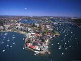 Wrights Point and Gladesville Bridge  Sydney  Australia