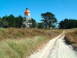 Lighthouse  Farewell Spit  New Zealand