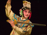 Peking Opera Performance  Beijing  China