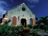 Village Church  Antigua  Caribbean