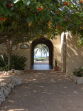 Archway to Pool at Tierra del Sol Golf Club and Spa  Aruba  Caribbean