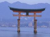 Hiroshima Mivaiima Torii Gate  Japan