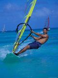 Windsurfer  Aruba  Caribbean