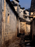 Ancient Town of Huizhou-styled Architecture and Canal  China