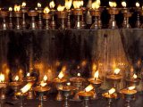 Prayer Flames  Jokhong Temple  Lhasa  Tibet