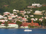 The Harbor at Charlotte Amalie  St Thomas  Caribbean