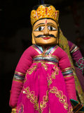 Puppet Souvenirs at Pushkar Camel Fair  India