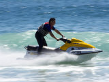Jet Skiier  Gold Coast  Queensland  Australia