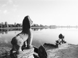 Sras Srang Royal Reservoir  Angkor  Cambodia