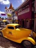 Street Scene in Philipsburg  St Martin  Caribbean