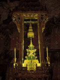 Emerald Buddha at the Grand Palace  Bangkok  Thailand