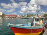 Fish Sellers at the Waterfront  Grande Terre  Guadaloupe  Caribbean