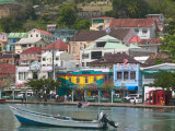 Shops  Restaurants and Wharf Road  The Carenage  Grenada  Caribbean