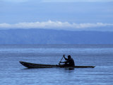 Canoe on Lake Tanganyika  Tanzania