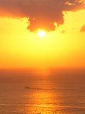 Sunset on Shizuoka  Japan