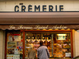 Couple Window Shopping at Cremerie  Paris  France