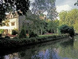 Lower Slaughter  Washbourne Court Hotel  Gloucestershire  England