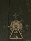 Door Lock of Hopperstad Stave Church  Sogne Fjord  Vic  Norway