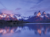 Mt Southern  Torres del Paine National Park  Patagonia  Chile