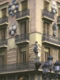 Las Ramblas Area  Barcelona  Spain