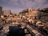 Vallon des Auffes  Small Fishing Port  Marseille  France