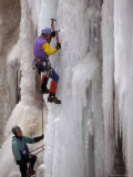 Ice Climbing  Ouray  Colorado  USA