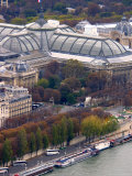 View of Grand Palais from Eiffel Tower  Paris  France