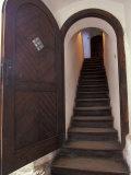 14th Century Bran Castle Detail  Brasov Region  Romania