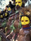 Coastal Tribe Natives  Oro  Papua New Guinea