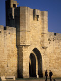 Aigues Mortes Ramparts  Languedoc  France