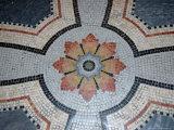 Mosaic Floor in Basilique Notre-Dame de Fourviere  Rhone-Alps  Lyon  France