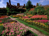 Elizabethan Knot Garden  Shakespeare&#39;s Home  Stratford-on-Avon  England