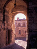 Inside the Walls of Cordes-sur-Ciel  Languedoc  France