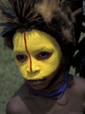 Coastal Tribe Member  Oro  Papua New Guinea