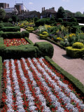 Nash House Gardens  Stratford-on-Avon  England