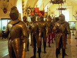 Knights at Grand Master's Palace  Valletta  Malta